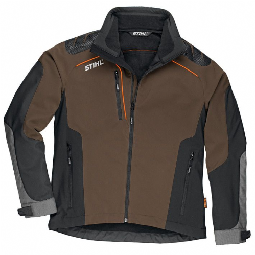 Genuine STIHL Advance X-Shell Jacket Peat / Black